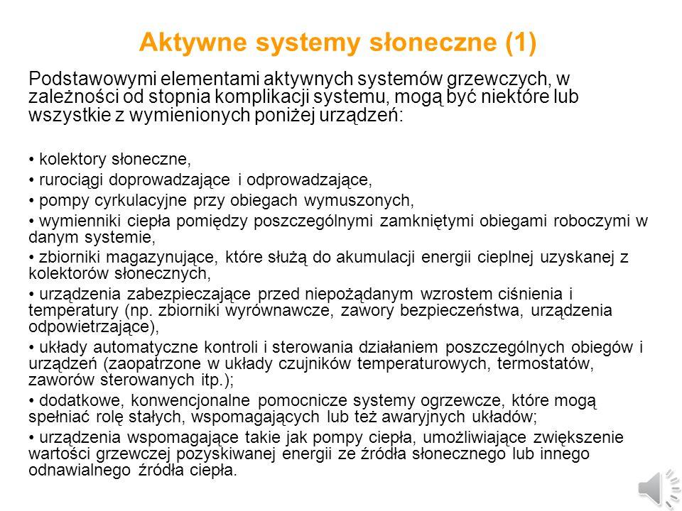 Aktywne systemy słoneczne (1)