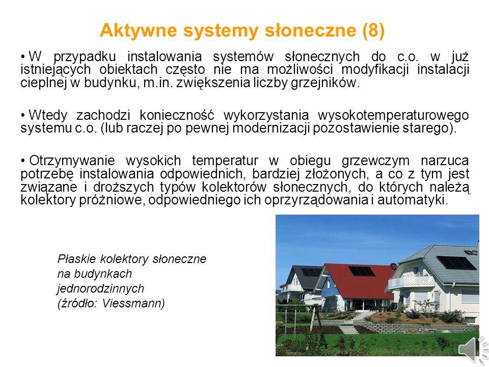 Aktywne systemy słoneczne (8)