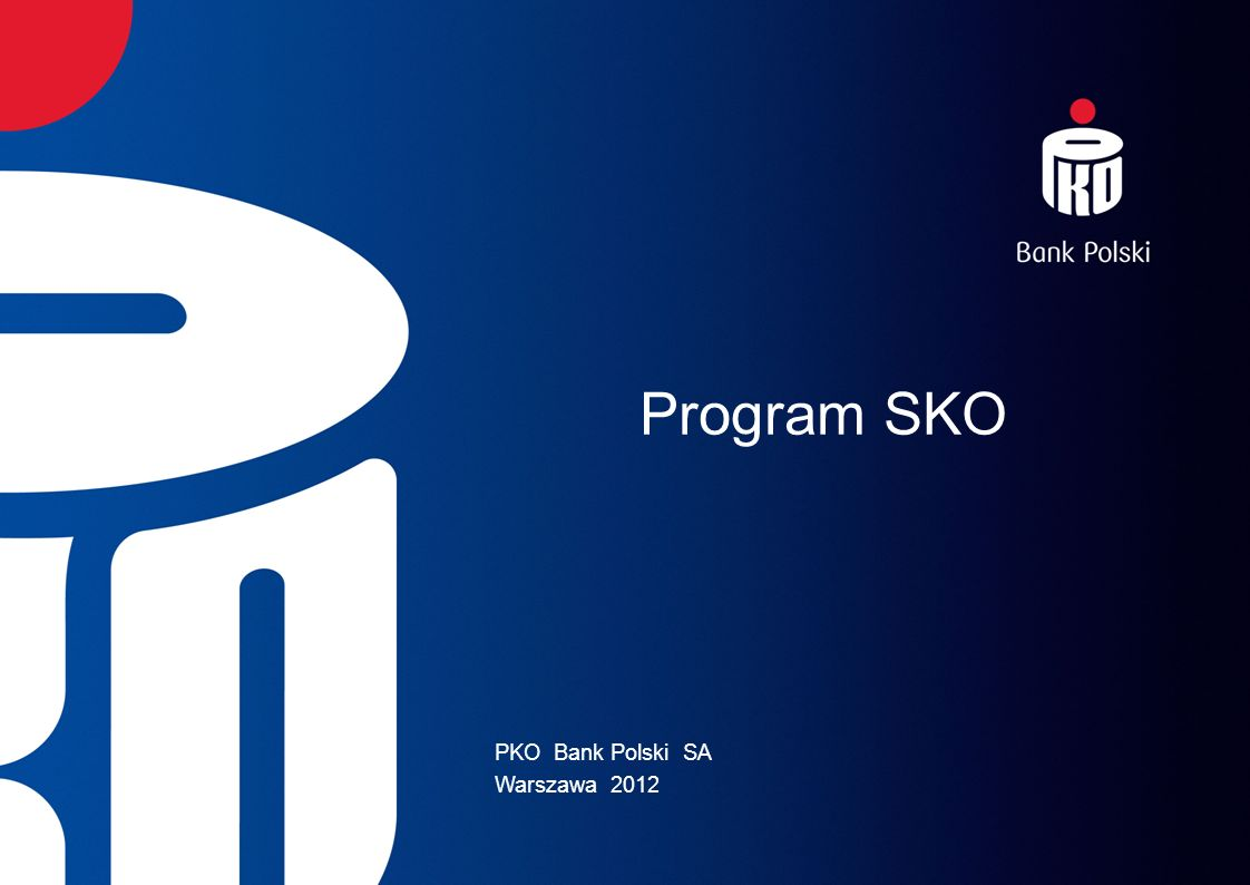 PKO Bank Polski SA Warszawa 2012