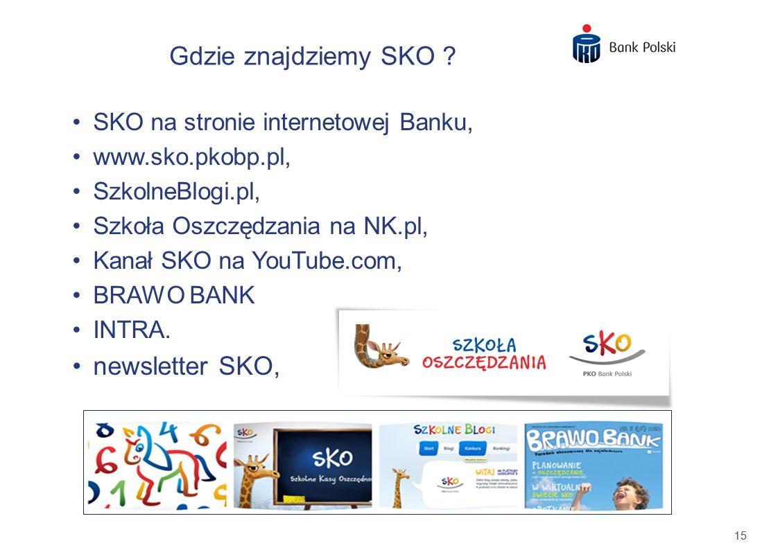Gdzie znajdziemy SKO newsletter SKO,