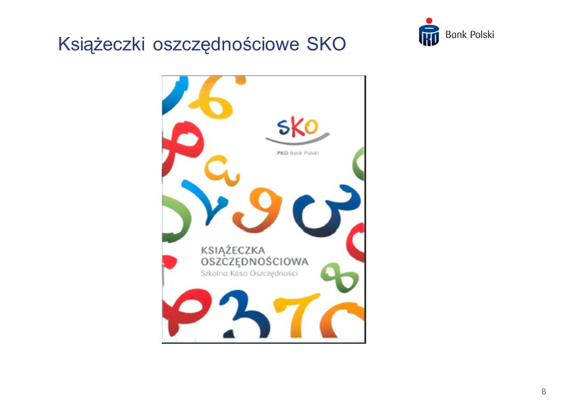 Książeczki oszczędnościowe SKO