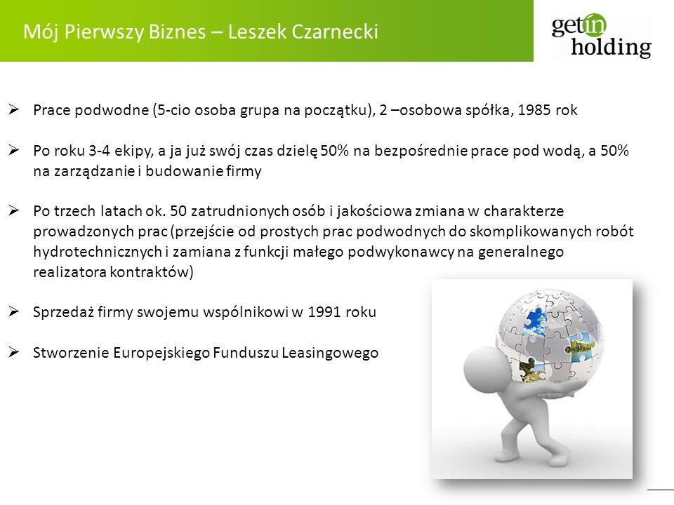 Mój Pierwszy Biznes – Leszek Czarnecki