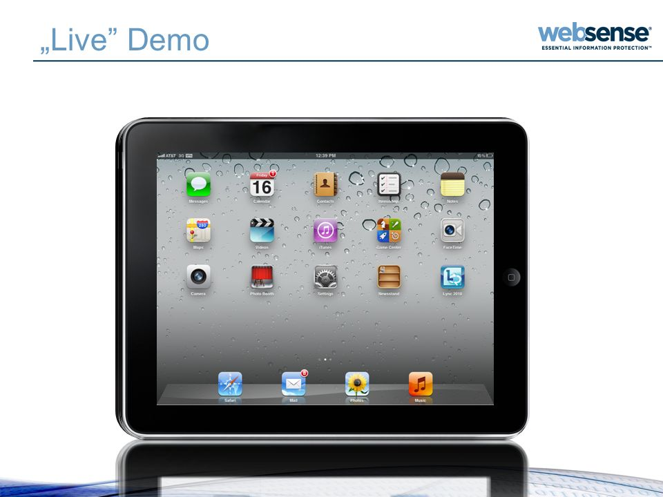 """Live Demo How to provision a device It's as easy as 1-2-3!"