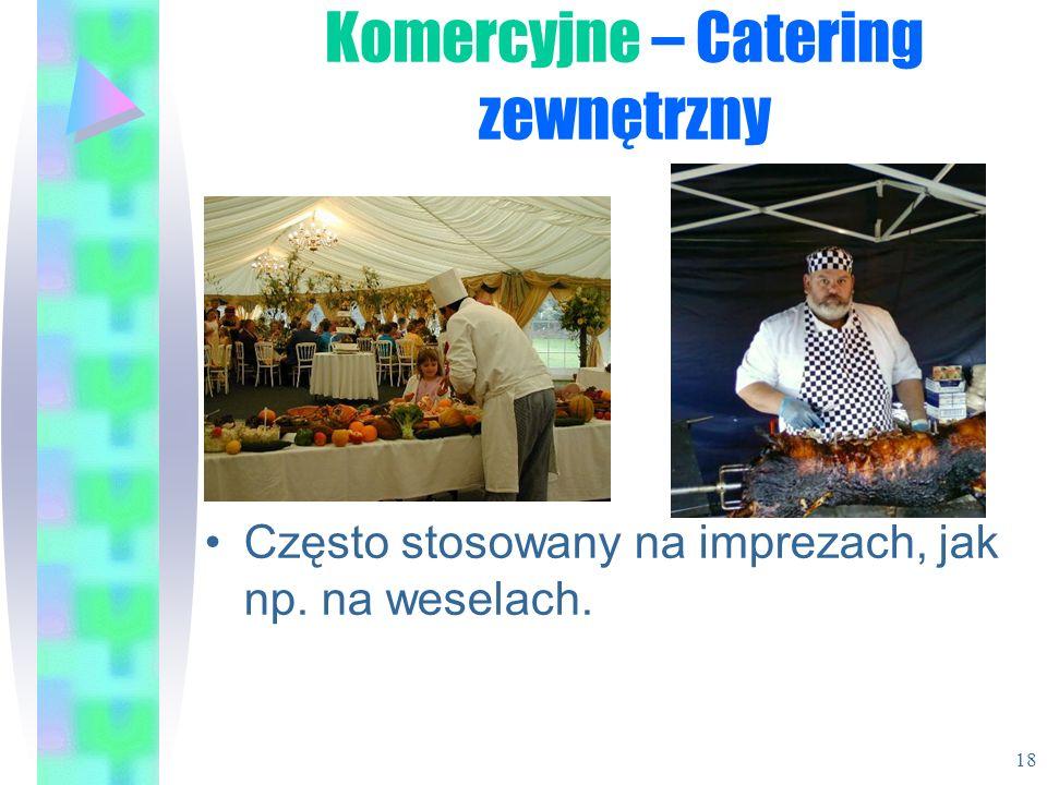 Komercyjne – Catering zewnętrzny