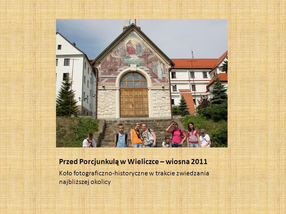 Przed Porcjunkulą w Wieliczce – wiosna 2011