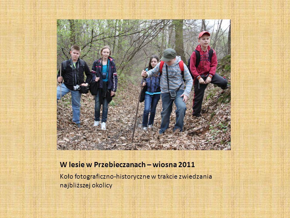 W lesie w Przebieczanach – wiosna 2011
