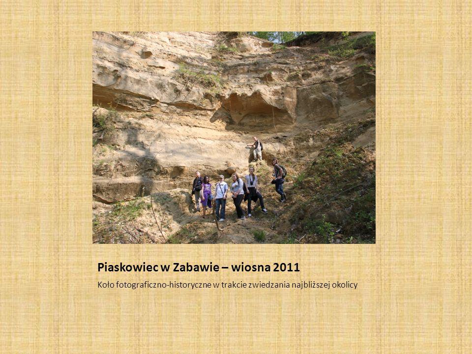 Piaskowiec w Zabawie – wiosna 2011