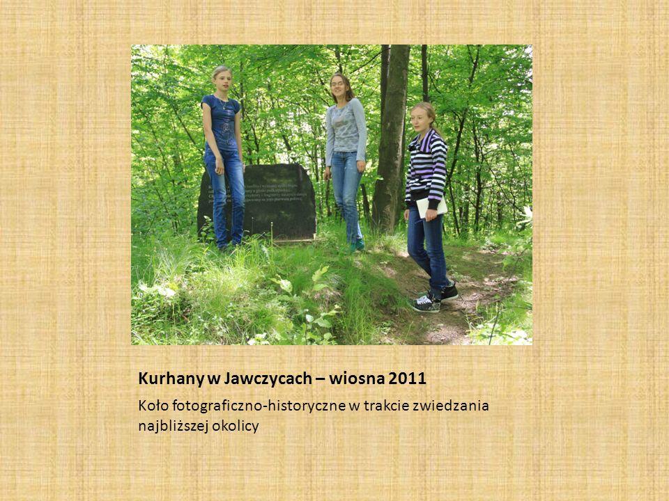 Kurhany w Jawczycach – wiosna 2011