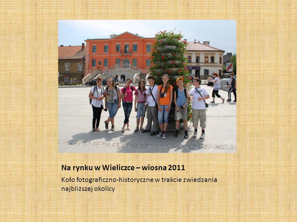 Na rynku w Wieliczce – wiosna 2011