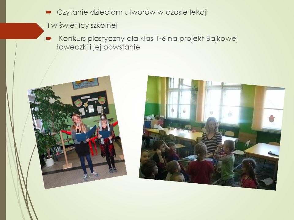Czytanie dzieciom utworów w czasie lekcji