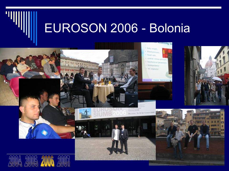 EUROSON 2006 - Bolonia 2004 2005 2006 2007