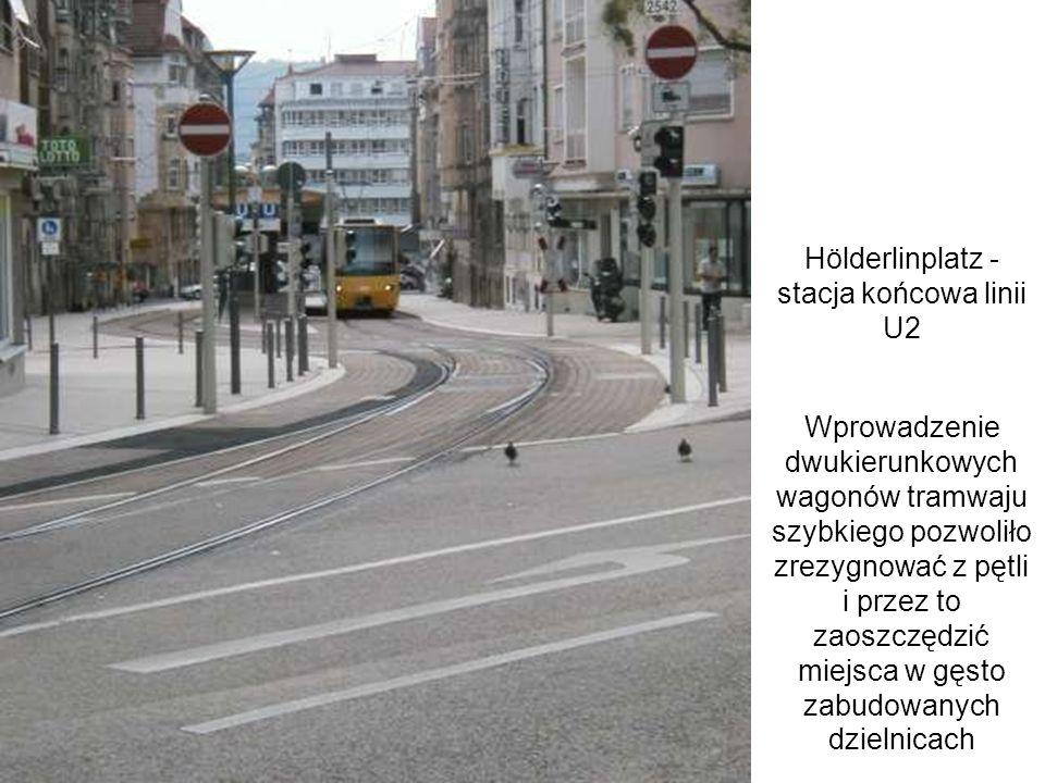 Hölderlinplatz - stacja końcowa linii U2