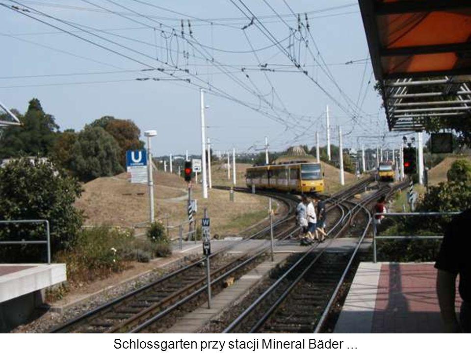 Schlossgarten przy stacji Mineral Bäder ...