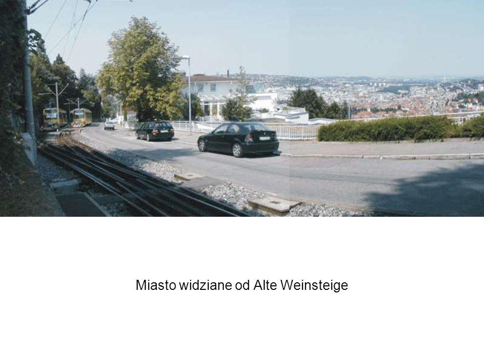 Miasto widziane od Alte Weinsteige