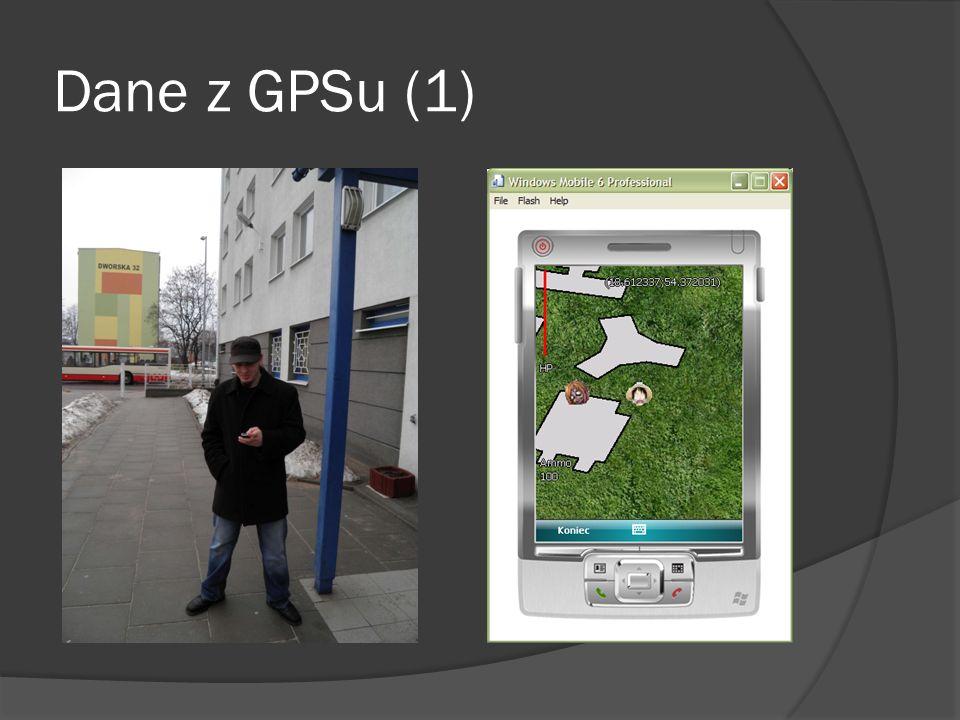Dane z GPSu (1)