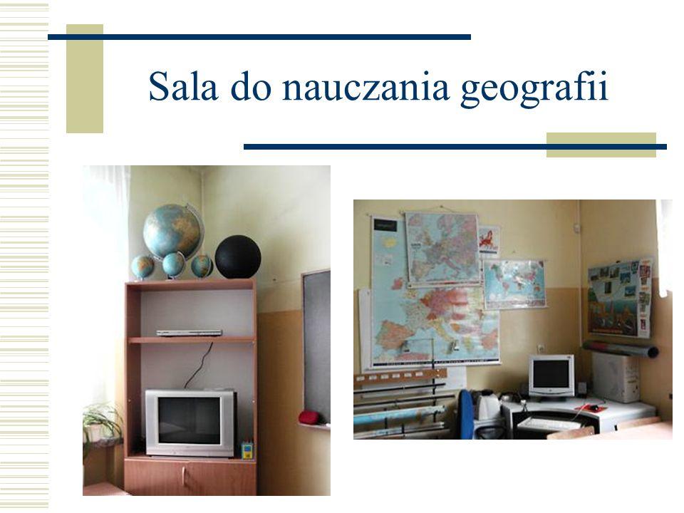 Sala do nauczania geografii