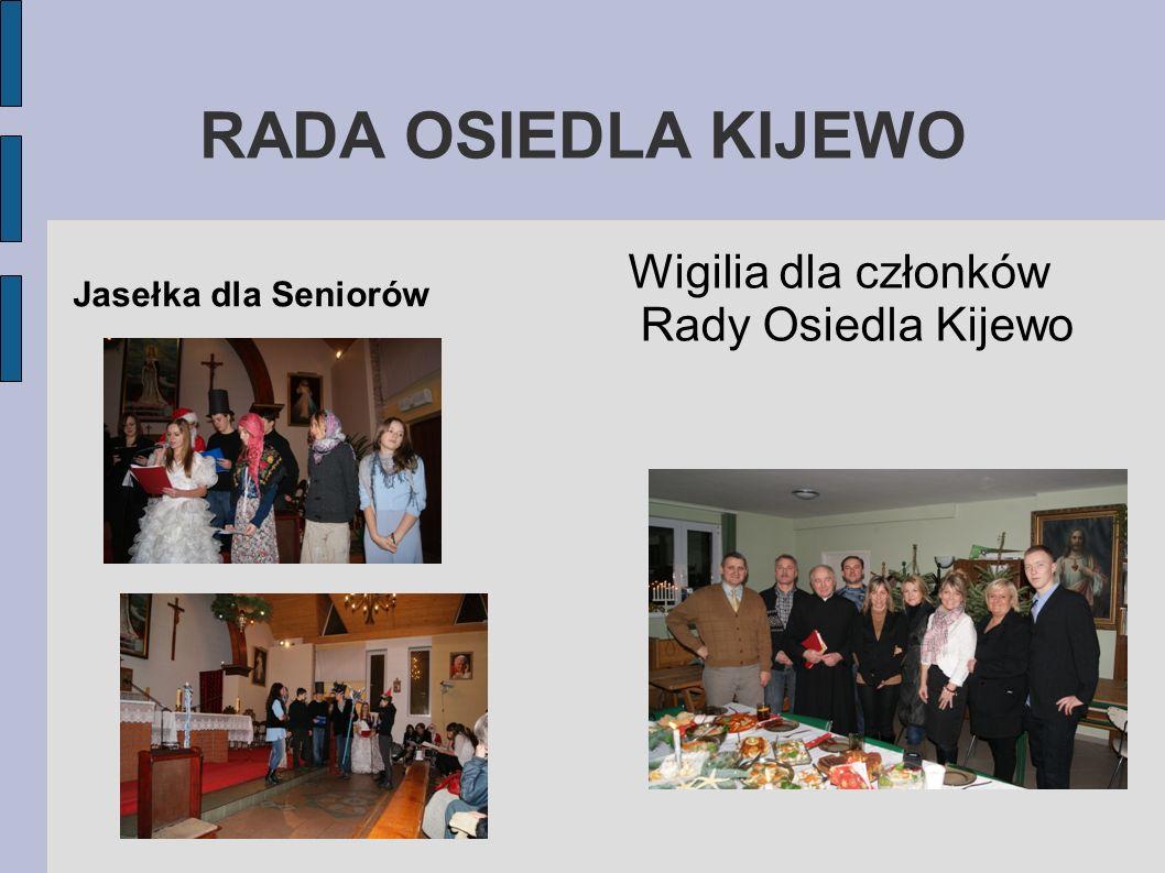 Wigilia dla członków Rady Osiedla Kijewo