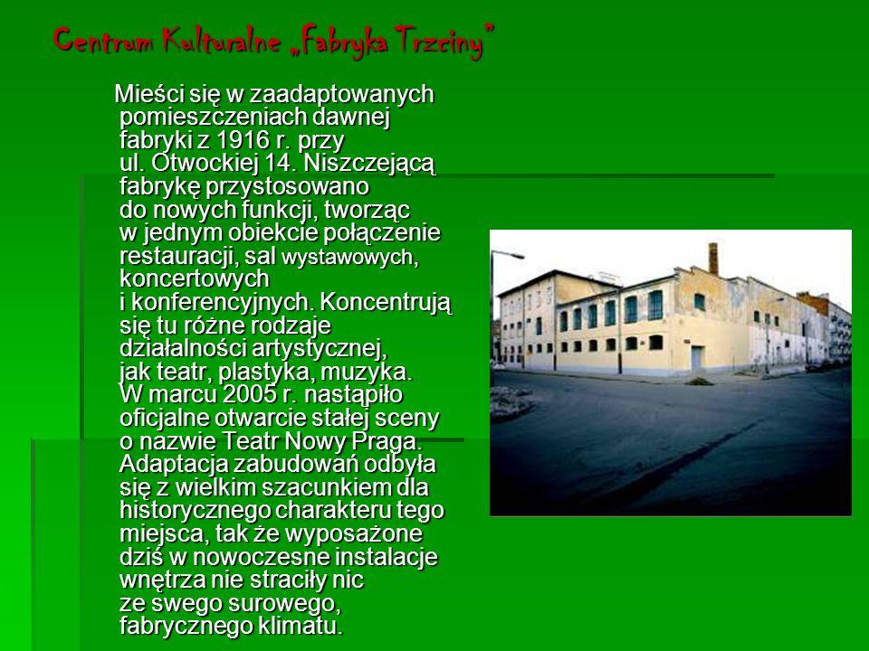 "Centrum Kulturalne ""Fabryka Trzciny"