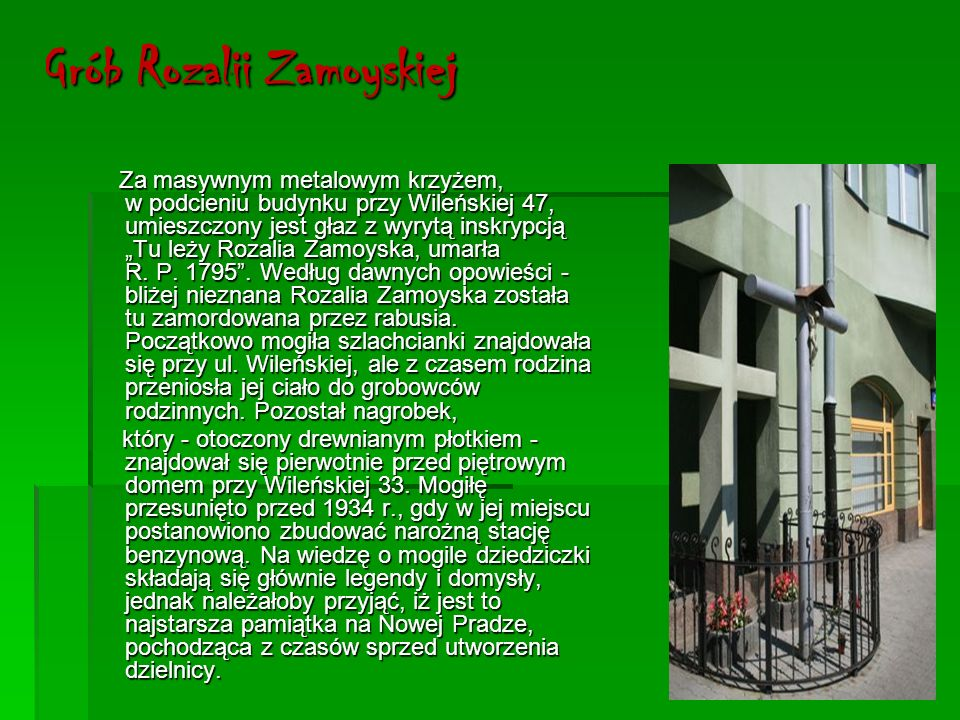 Grób Rozalii Zamoyskiej