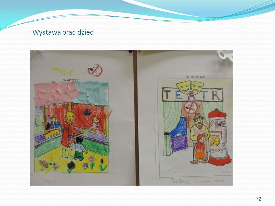 Wystawa prac dzieci 72