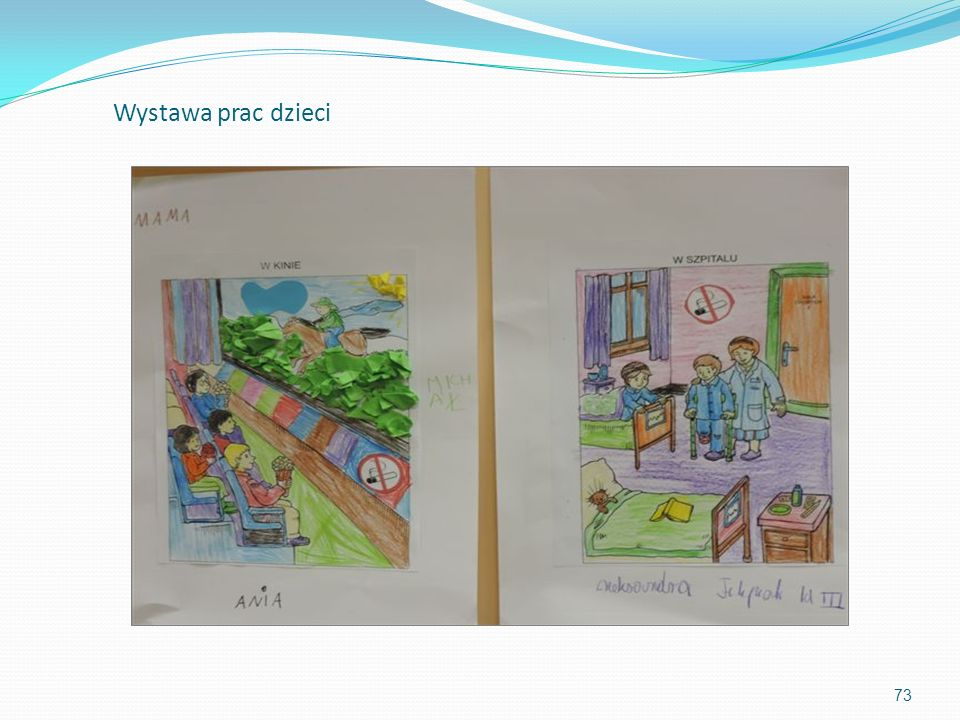 Wystawa prac dzieci 73