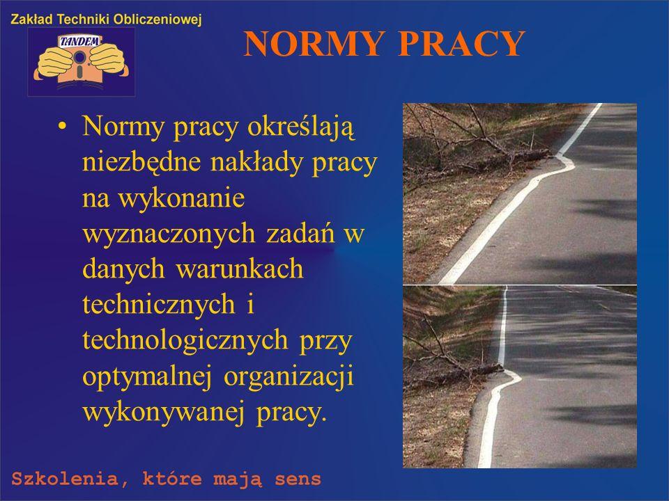 NORMY PRACY