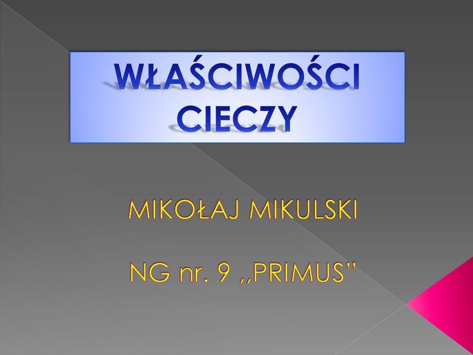 MIKOŁAJ MIKULSKI NG nr. 9 ,,PRIMUS