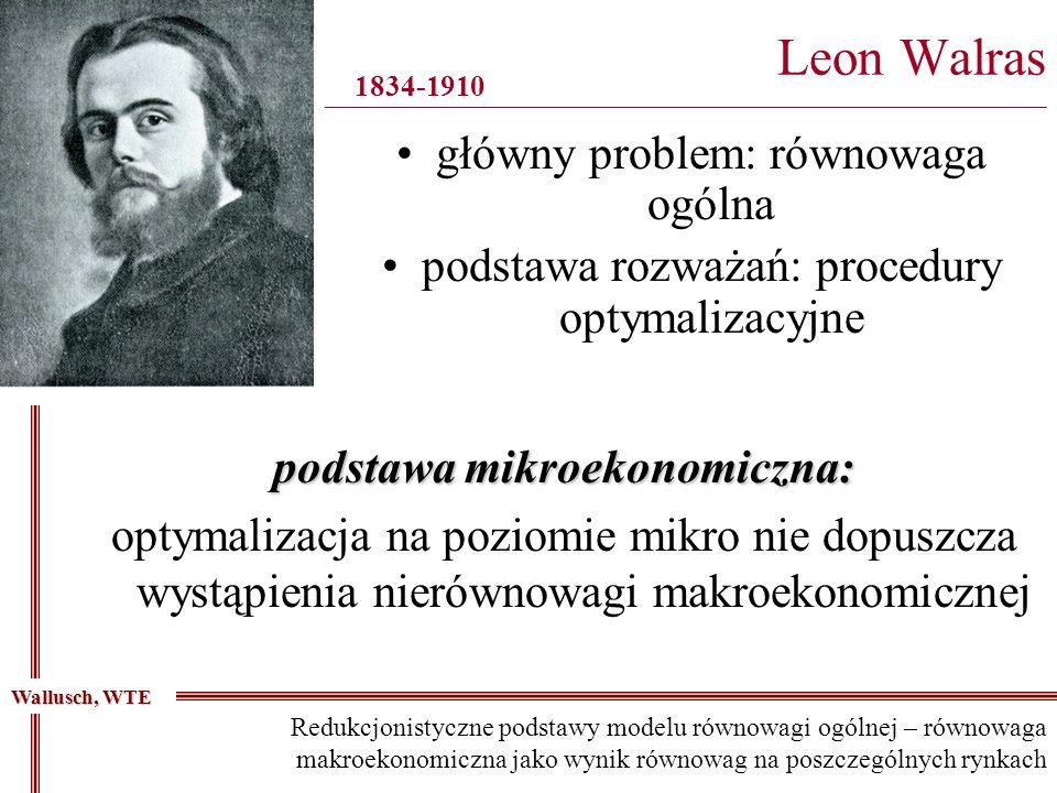 Leon Walras __________________________________________________________________________________