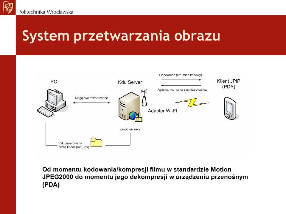 System przetwarzania obrazu