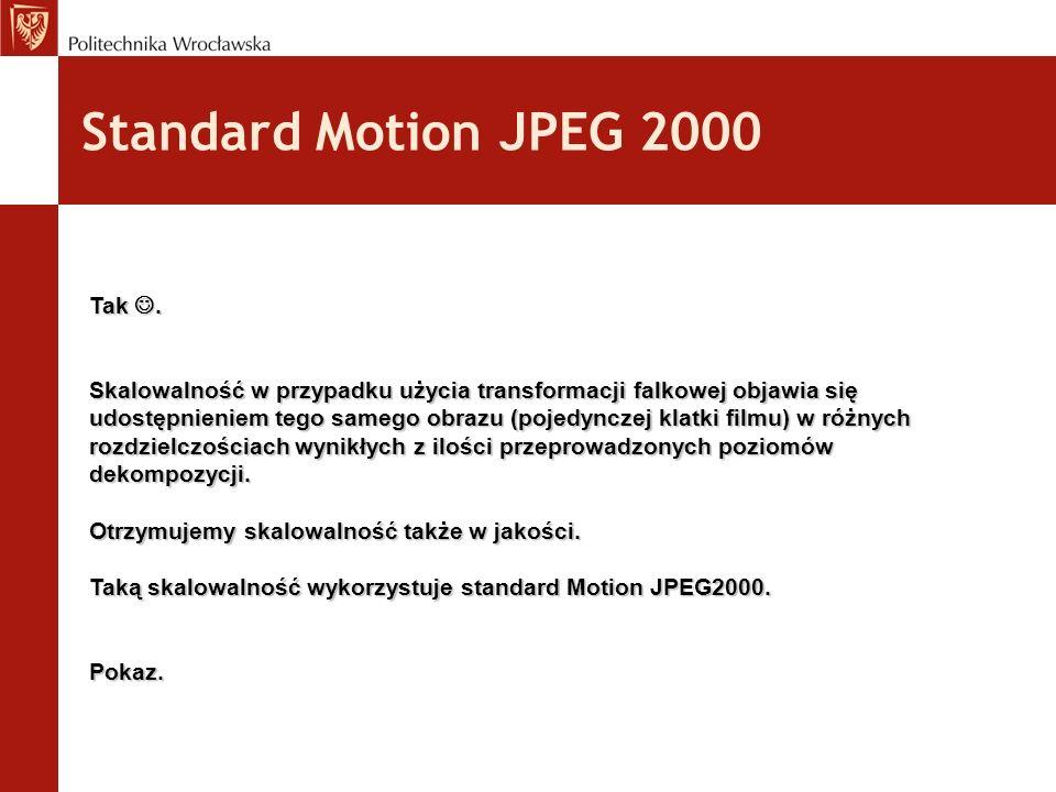 Standard Motion JPEG 2000