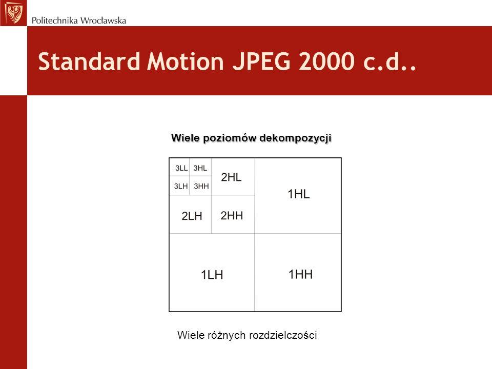 Standard Motion JPEG 2000 c.d..