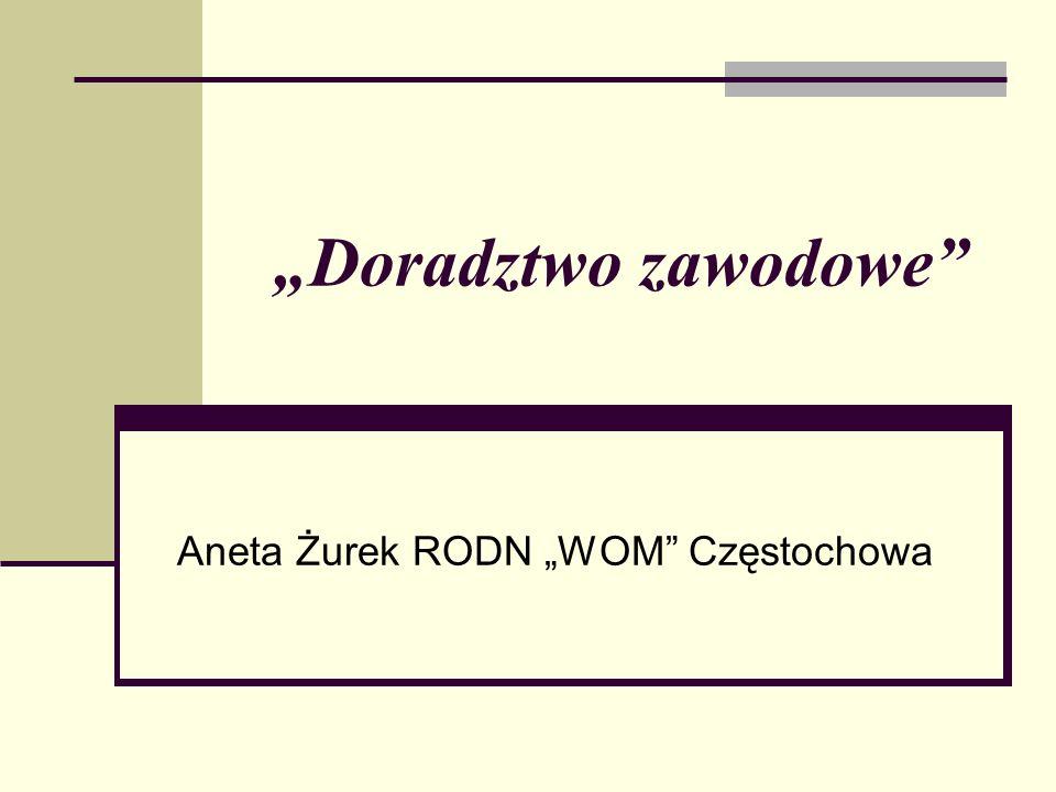 """Aneta Żurek RODN """"WOM Częstochowa"""