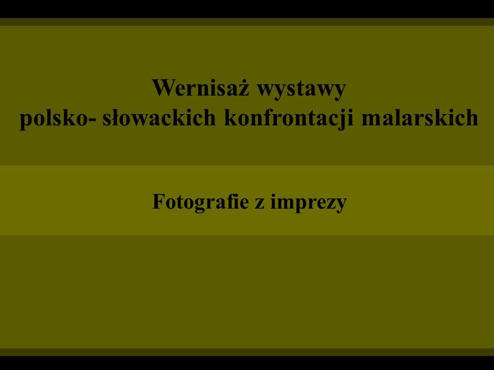 polsko- słowackich konfrontacji malarskich
