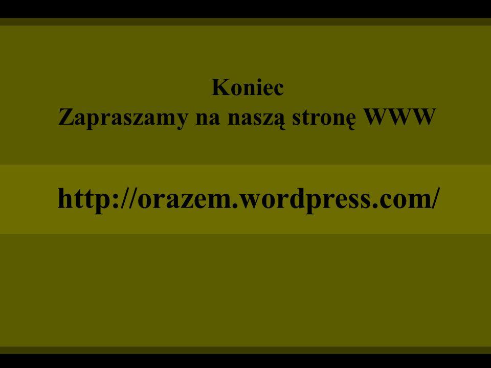 Zapraszamy na naszą stronę WWW