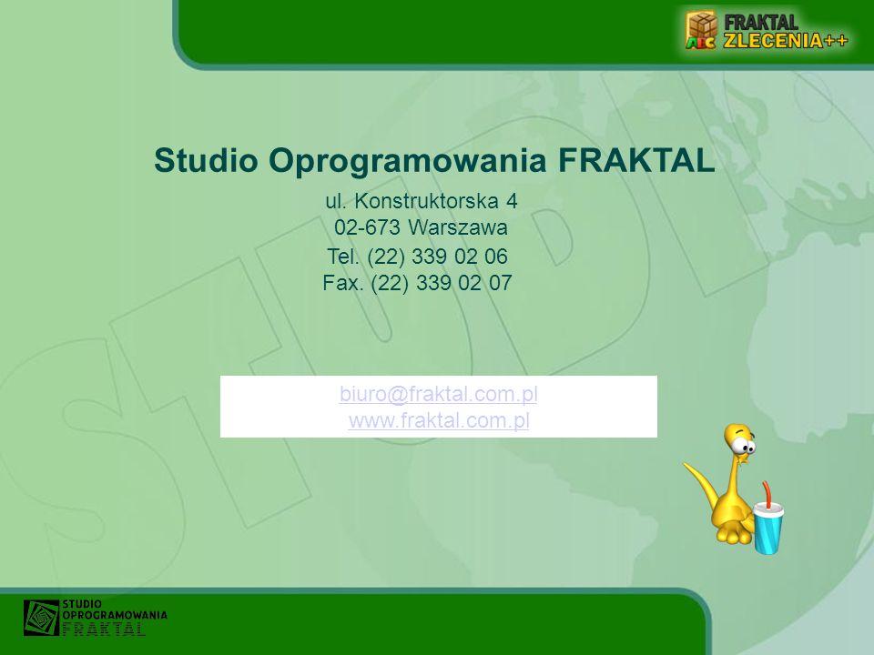 Studio Oprogramowania FRAKTAL