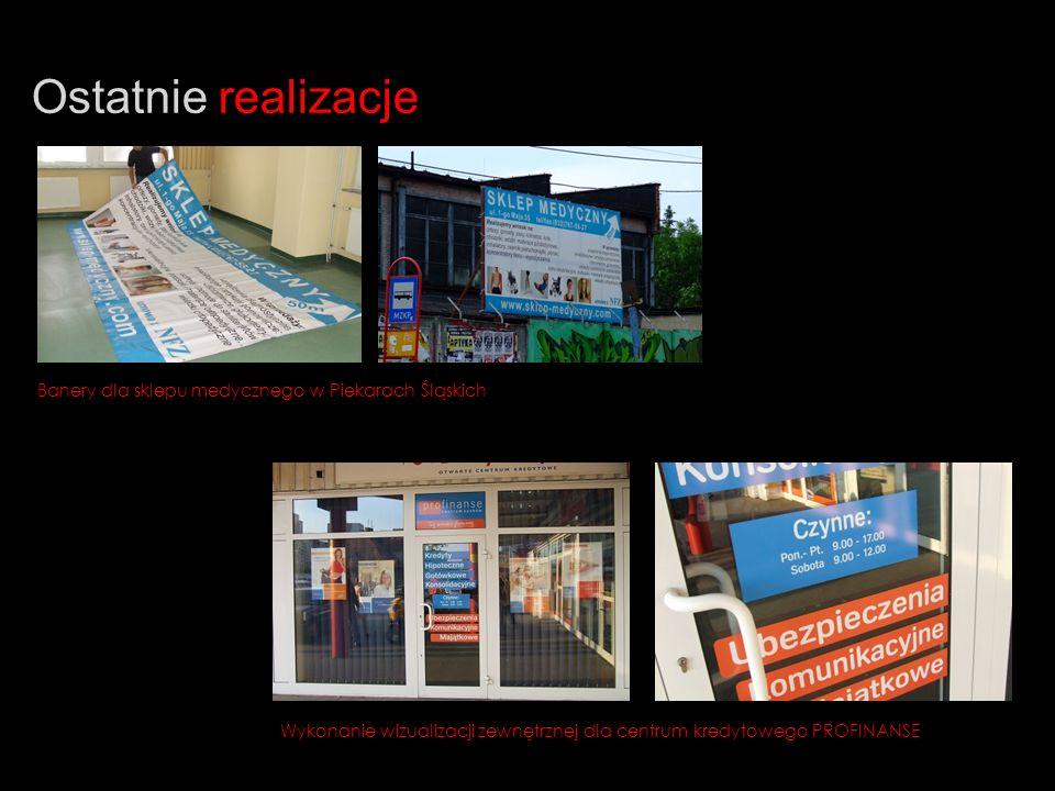 Ostatnie realizacje Banery dla sklepu medycznego w Piekarach Śląskich