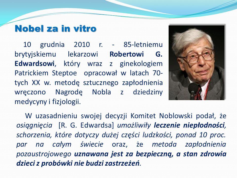 Nobel za in vitro