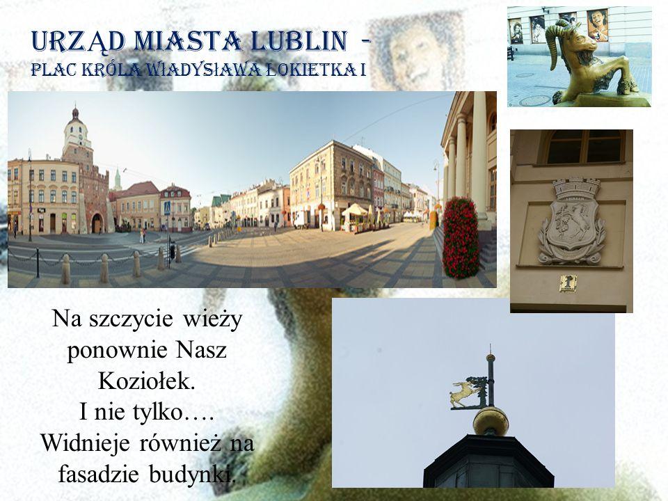 UrzĄd Miasta Lublin - plac króla władysława Łokietka i
