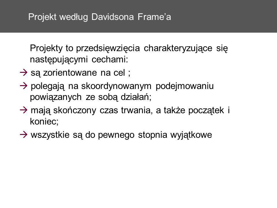 Projekt według Davidsona Frame'a