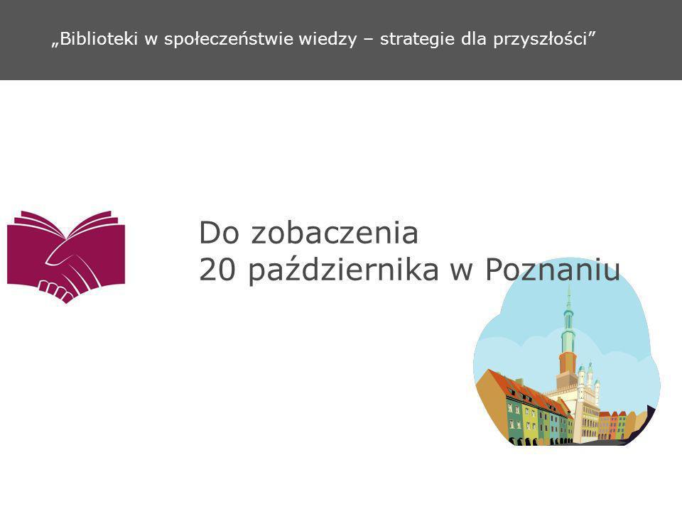 Do zobaczenia 20 października w Poznaniu
