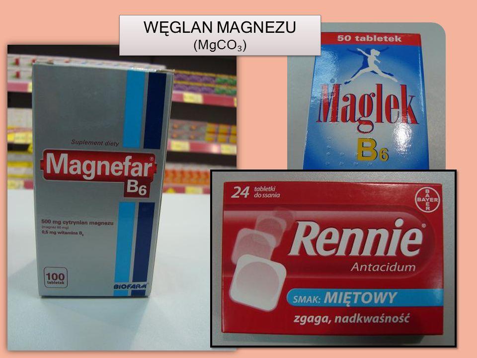 WĘGLAN MAGNEZU (MgCO₃)