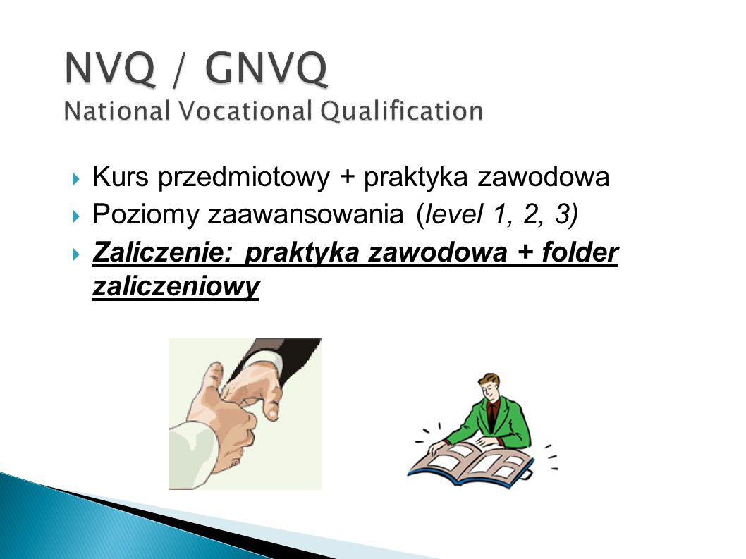NVQ / GNVQ National Vocational Qualification