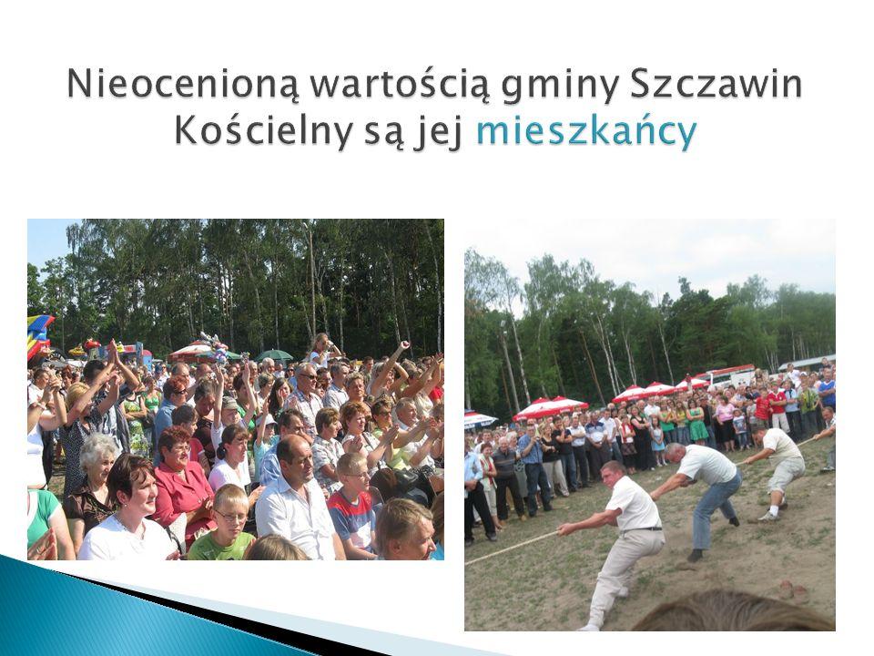 Nieocenioną wartością gminy Szczawin Kościelny są jej mieszkańcy