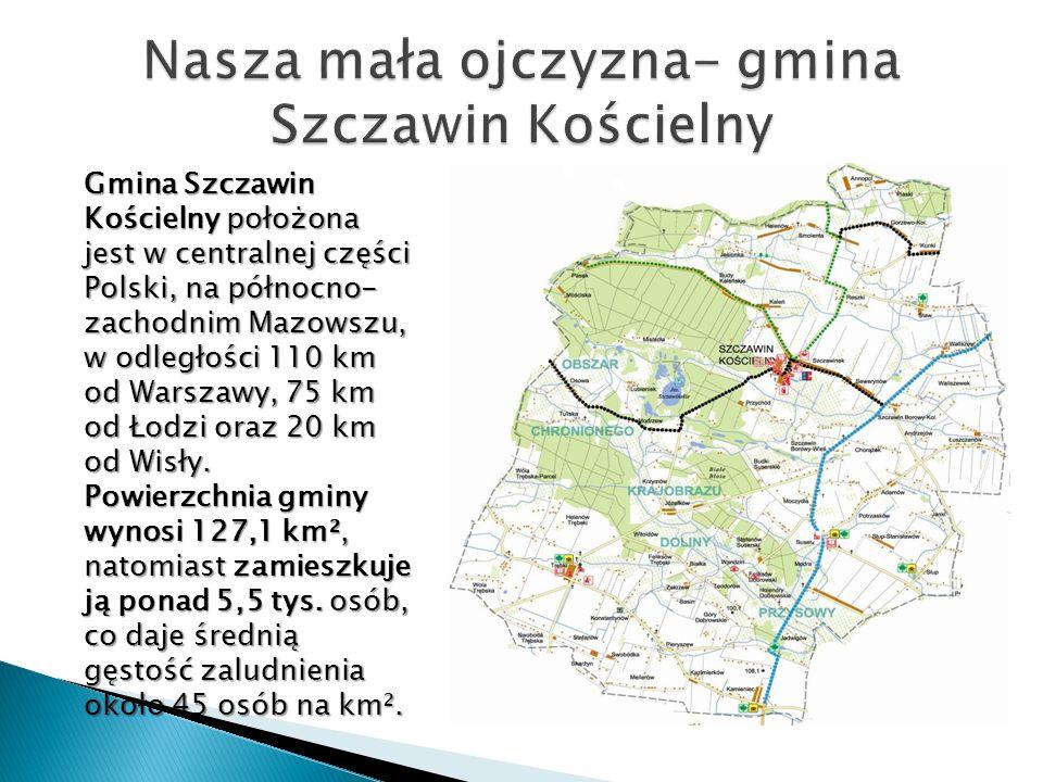 Nasza mała ojczyzna- gmina Szczawin Kościelny