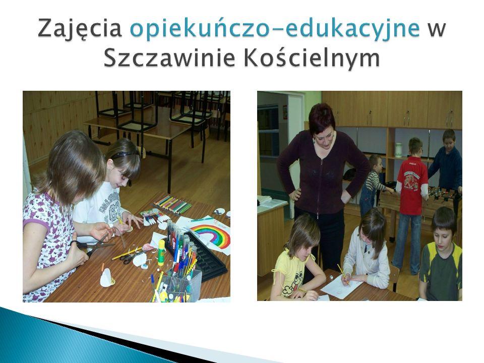 Zajęcia opiekuńczo-edukacyjne w Szczawinie Kościelnym