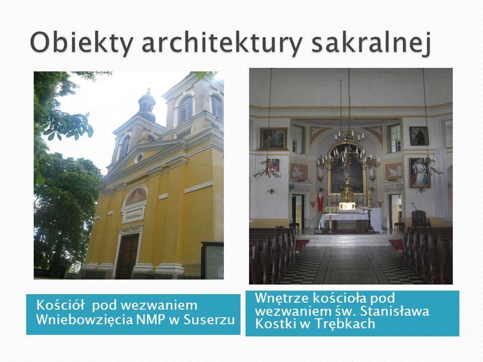 Obiekty architektury sakralnej