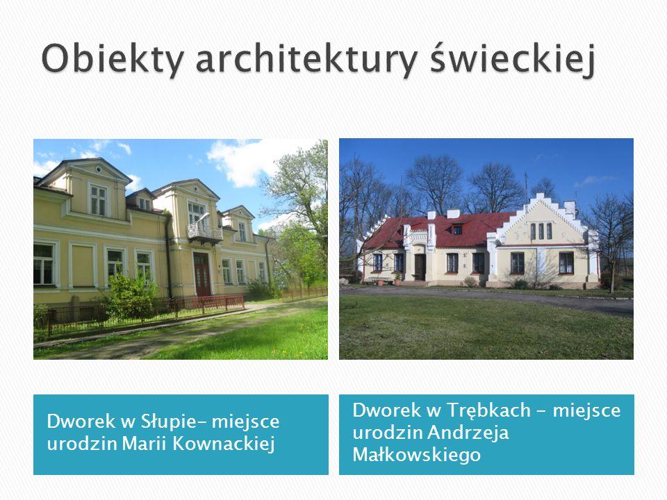Obiekty architektury świeckiej