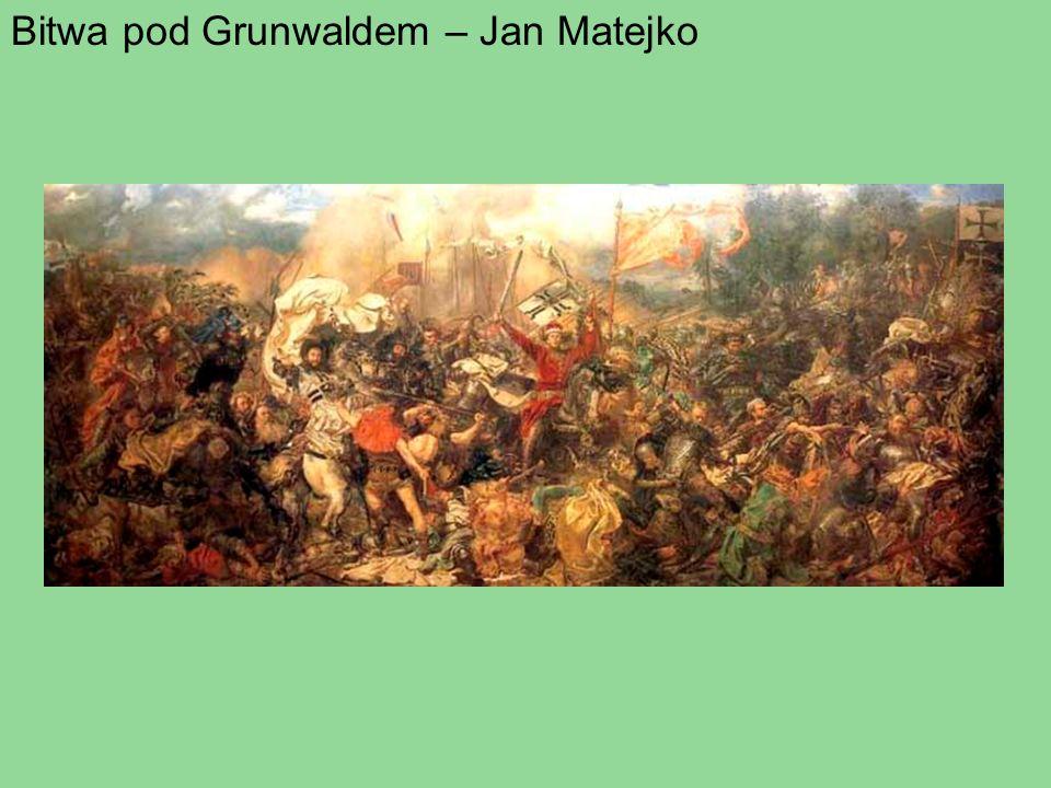Bitwa pod Grunwaldem – Jan Matejko