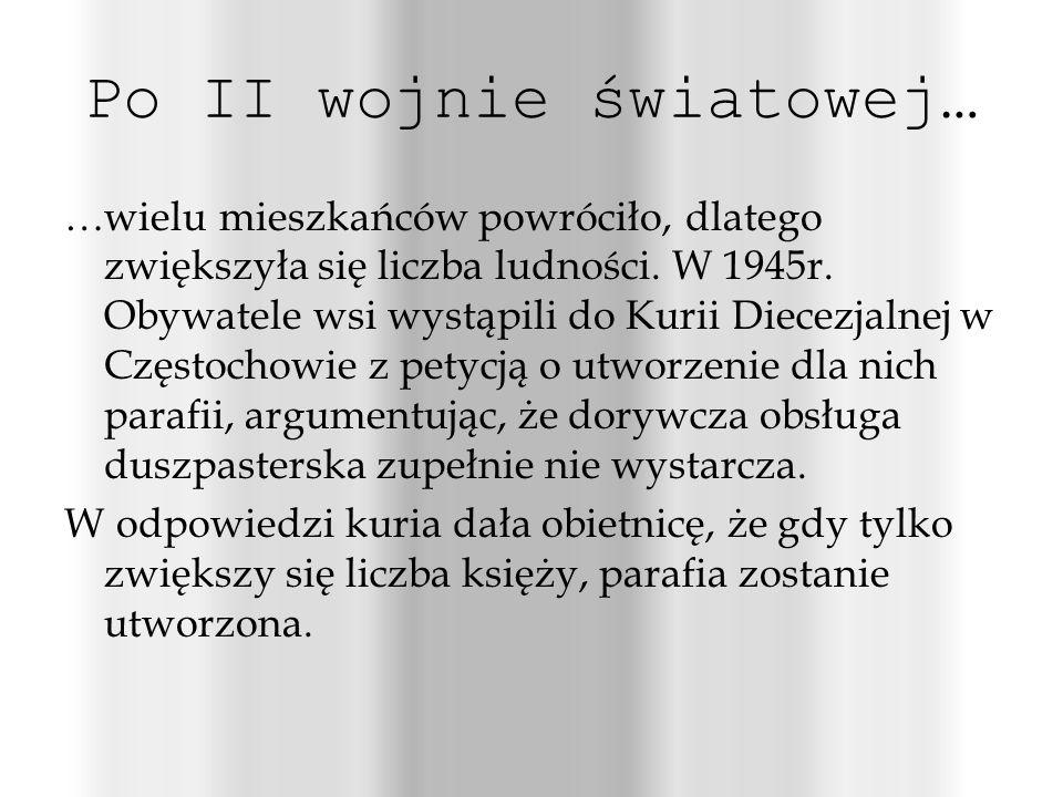 Po II wojnie światowej…