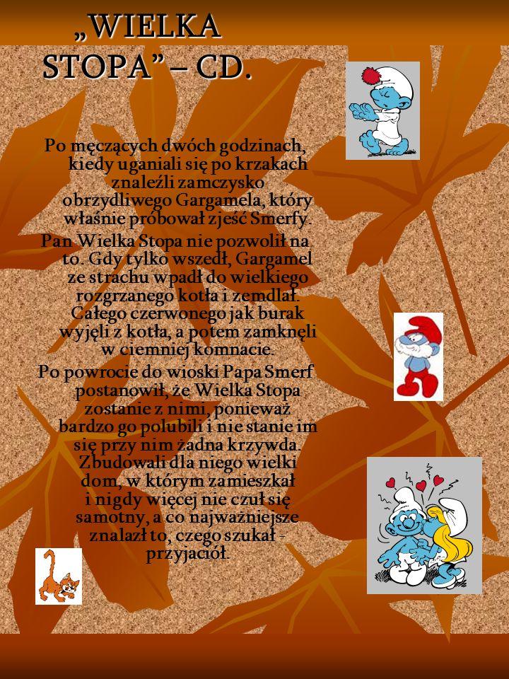 """""""WIELKA STOPA – CD."""